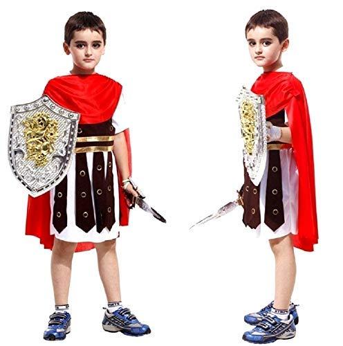 Inception Pro Infinite Disfraz - Disfraz - Carnaval - Halloween - Centurión romano - Multicolor - Niño - Talla XL - 7 - 8 años - Idea de regalo original