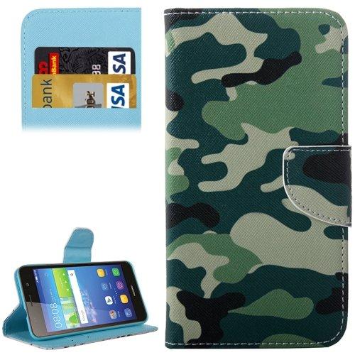 Mecaweb Handy Taschen für Huawei Ascend Y6 Scale Schutz Hülle Flip Cover Case