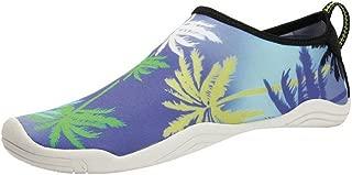 COMVIP Water Shoes Slip On Quick Dry Barefoot Beach Swim Shoes Socks