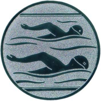 Pokal Emblem Schwimmen - 25 mm/bronze