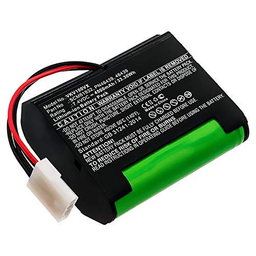 subtel® Premium Akku (7.4V, 4500mAh, Li-Ion) kompatibel mit Vorwerk Kobold VR100-46439,PN46439,SCM61932 Ersatzakku Batterie Werkzeugakku