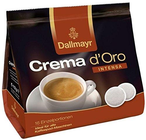 Dallmayr Crema d'Oro INTENSA Kaffeepads 28st.
