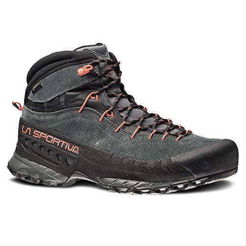 La Sportiva TX4 MID GTX Hiking Shoe - Men's, Carbon/Flame, 44