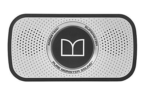 Monster SuperStar High Definition Bluetooth Speaker (Black/Space Gray)
