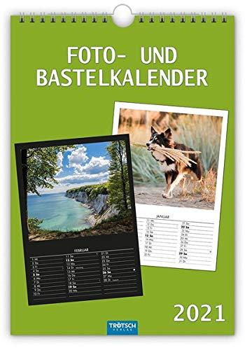 Foto- und Bastelkalender A4 2021: 21 x 30 cm (Geschenkkalender)