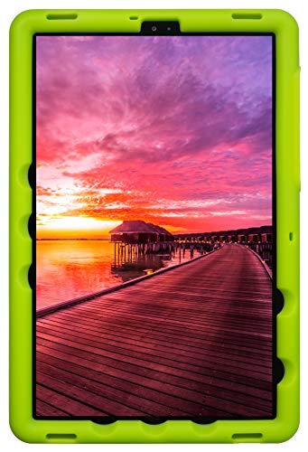 BobjGear Bobj Rugged Tablet Case for (26.7) Samsung Galaxy Tab S5e (SM-T720, SM-T725, SM-T727) Kid Friendly (Gotcha Green)