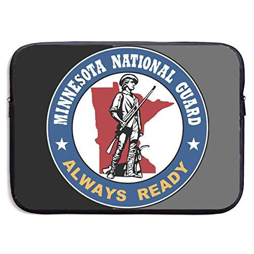 Zome Lag Guardia Nacional De Minnesota Estuches para Tablet Pc,Maletín Funda,Fundas Blandas para Tablets,Funda Protectora,Funda para Portátil,Hombre/Mujer Tableta Sleeve 13In