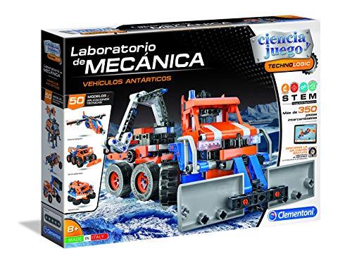 Clementoni Ciencia y Juego - Laboratorio de Mecánica Juguete, Buggy + Quad, Multicolor (55373)