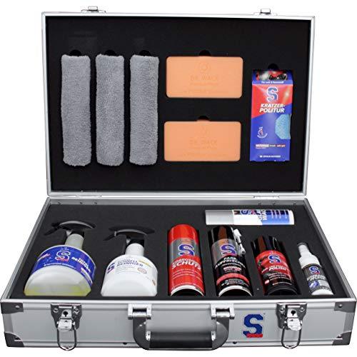 S100 Motorrad-Pflegemittel, Motorrad-Lackpflege Premium Care Kit Pro, Unisex, Multipurpose, Ganzjährig, Aluminium