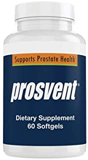 Prosvent Prostate Supplement for Men with Clinically Effective Beta Sitosterol, as well as Saw Palmetto, Vitamin D & Zinc....