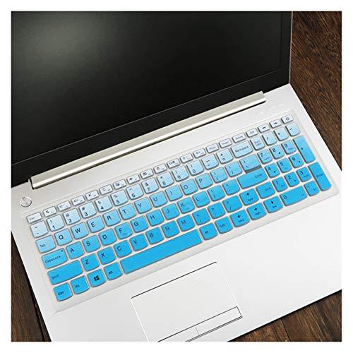 Flexible, lavable, Notebook teclado cubierta protectora de la piel for Lenovo IdeaPad 310 15 510 15 110 15 17 Nuevos portátiles 15 '' de 15,6 pulgadas Accesorios for portátiles Polvo anti-sucio