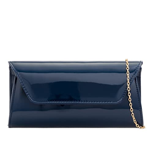 d529af0d054d7 LeahWard Women's Patent Flap Clutch Bag Purses Party Evening Bags Handbag  250