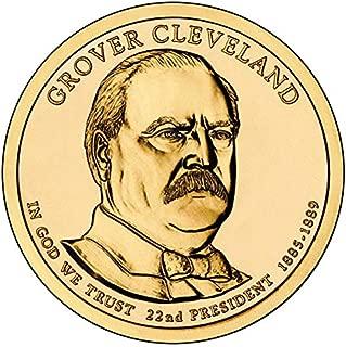 2012 D Position B BU Grover Cleveland Presidential Dollar 1st Term Choice Uncirculated US Mint