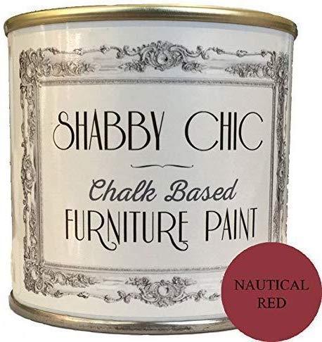 Meubles nautique peinture rouge Idéal pour Création d'un style Shabby Chic. 250ml