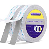 Double Sided Tape Heavy Duty, EMITEVER 2 Mounting Tapes, Two Sided Adhesive Tape, Waterproof Foam Tape,16.4ft X 0.9inch for Car Decor, Office Home Decoration Crafts Walls Scotch (Made of 3M VHB Tape)