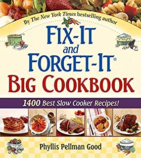 Fix-It and Forget-It Big Cookbook: 1400 Best Slow Cooker Recipes! (156148640X)   Amazon price tracker / tracking, Amazon price history charts, Amazon price watches, Amazon price drop alerts