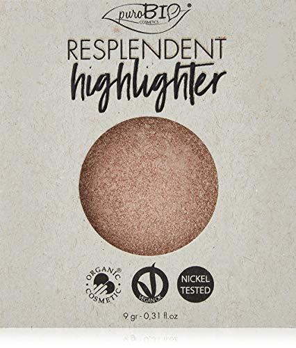 Purobio Illuminante Compatto Resplendent Highlighter 01 Champagne Refill - 9 Gr