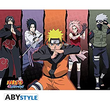 """ABYstyle - NARUTO SHIPPUDEN - """"Group"""" Poster (91.5 x 61"""