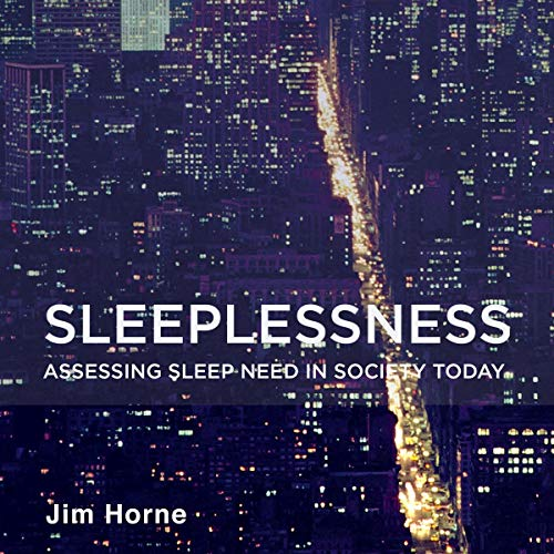 Sleeplessness audiobook cover art