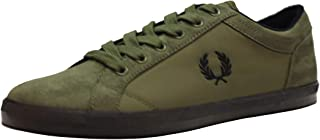 Fred Perry Baseline Winterised Ripstop Mens Trainers Iris Leaf - 7 UK