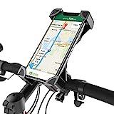 Fantigo Handyhalterung Fahrrad, silikon Fahrrad handyhalterung Motorrad Universal 360°Drehbarem handyhalter Fahrrad-Lenker Handyhalter für IOS Android GPS Other Devices(4.0-6.5 Zoll)