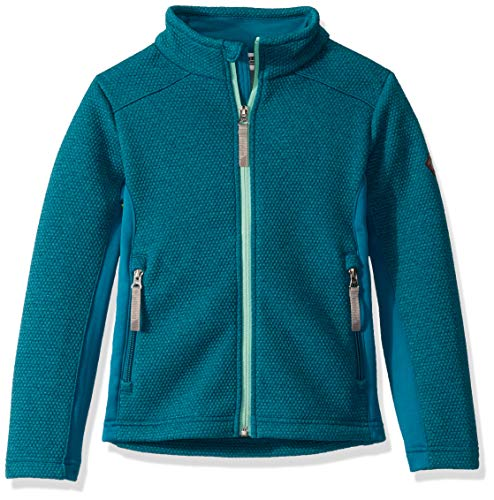 Spyder Mädchen Encore Fleecejacke - Kids Full Zip, Mädchen, Encore Full Zip Fleece Jacket, Swell, Large