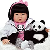 Paradise Galleries Asian Reborn Baby Doll, 20 Inch Realistic Girl Doll Bamboo Crafted in Gentletouch Vinyl & Weighted Body, 7-Piece Gift Set