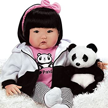 Paradise Galleries Asian Reborn Baby Doll 20 Inch Realistic Girl Doll Bamboo Crafted in Gentletouch Vinyl & Weighted Body 7-Piece Gift Set