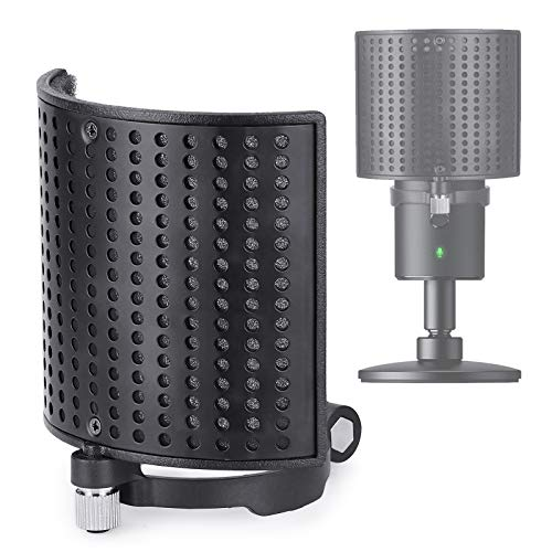 Micro Razer Seiren X Filtre Anti Pop Professionnel - Bouclier de Microphone avec 3 Couches Améliorant la Qualité Sonore pour Microphone Razer Seiren X par YOUSHARES