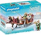 Playmobil - Spirit, Paseo en Trineo, Juguete, Color Multicolor, 70397