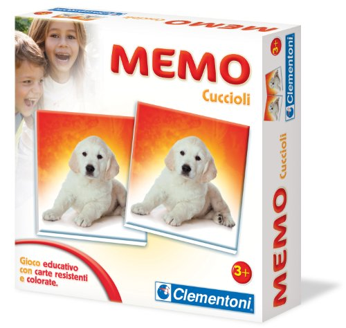 Clementoni - Jeu éducatif Memo Chiots - version italienne