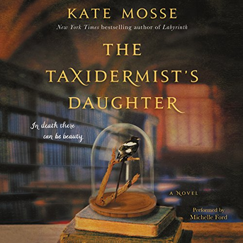 The Taxidermist's Daughter audiobook cover art