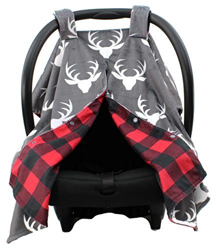 car seat canopy red color - 9