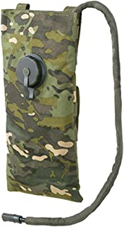 8Fields Mochila de hidratación clásica táctica Molle + cámara plana de 3 litros para trekking camping militar