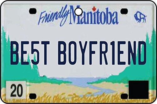 Ali Air Freshener Manitoba - Best Boyfriend Nummernschild Auto Lufterfrischer