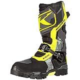 KLIM Adventure GTX Motorcycle Boots Men's Size 11 Asphalt Hi-Vis