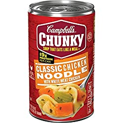 Campbell's Chunky Soup, Classic Chicken Noodle, 18.6 oz