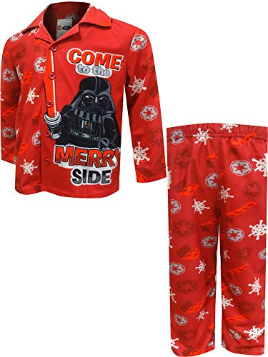 STAR WARS Boys' Lego Darth Vader Come to The Merry Side Pajama (6/7)