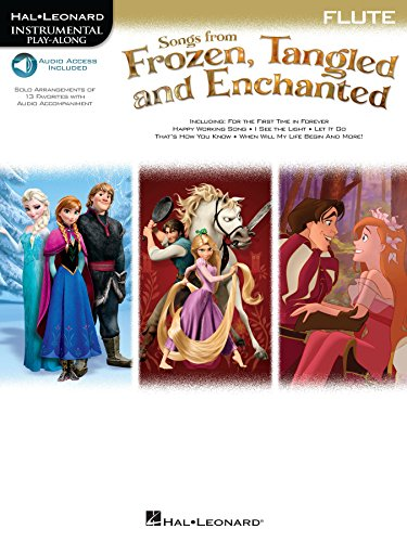 Songs from Frozen, Tangled and Enchanted - Flute Songbook (Hal Leonard Instrumental Play-along) (English Edition)