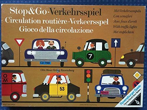 Verkehrsspiel - Ravensburger 601511210 - Ausgabe 1977