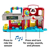 Little People GJC08 Fisher-Price Friendly School, Juego Musical para...