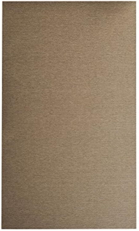 Flachgewebe Teppich Sahara - robuste Kunstfaser in Edler Sisal-Optik  schadstoffgeprüft pflegeleicht strapazierfhig  für Wohnzimmer Schlafzimmer Büro, Farbe Cognac, Gre 200 x 200 cm