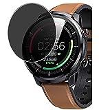 Vaxson Protector de Pantalla de Privacidad, compatible con Hommie L3 1.3' Smartwatch Smart watch [No Vidrio Templado Carcasa Case ] Película Protectora Film Guard