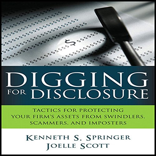 Digging for Disclosure audiobook cover art