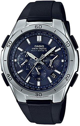 [カシオ] 腕時計 ウェーブセプター 電波ソーラー WVQ-M410-2AJF ブラック