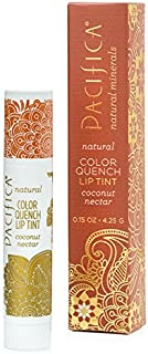 Pacifica Beauty Color Quench Lip Tint - Coconut Nectar, 0.15 Ounce
