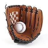 Guante de béisbol, Deportes de Bateo Guantes de Béisbol, Guantes de béisbol Guante Catcher Guantes de bateo Deportivo Cuero PU 10.5 Pulgadas para niños