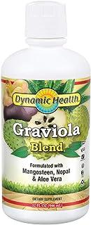 Dynamic Health Graviola Blend   Juice Formulated with 100% Organic Graviola, Mangosteen, Aloe Vera & Nopal   Vegetarian, N...