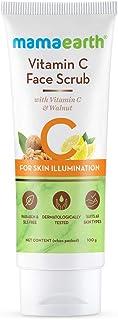 Mamaearth Vitamin C Face Scrub for Glowing Skin, With Vitamin C and Walnut For Skin Illumination – 100 g