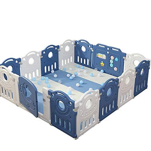 Parque Infantil para Bebés, Interior, Hogar, Patio De Recreo, Tapete para Gatear, Seguridad para Bebés, Valla Protectora para Niños Pequeños En El Suelo